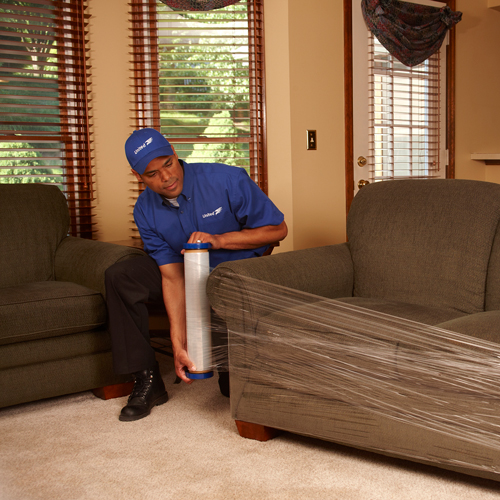 In-home furniture moving services